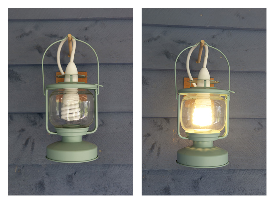 Upcycled Outdoor Lights