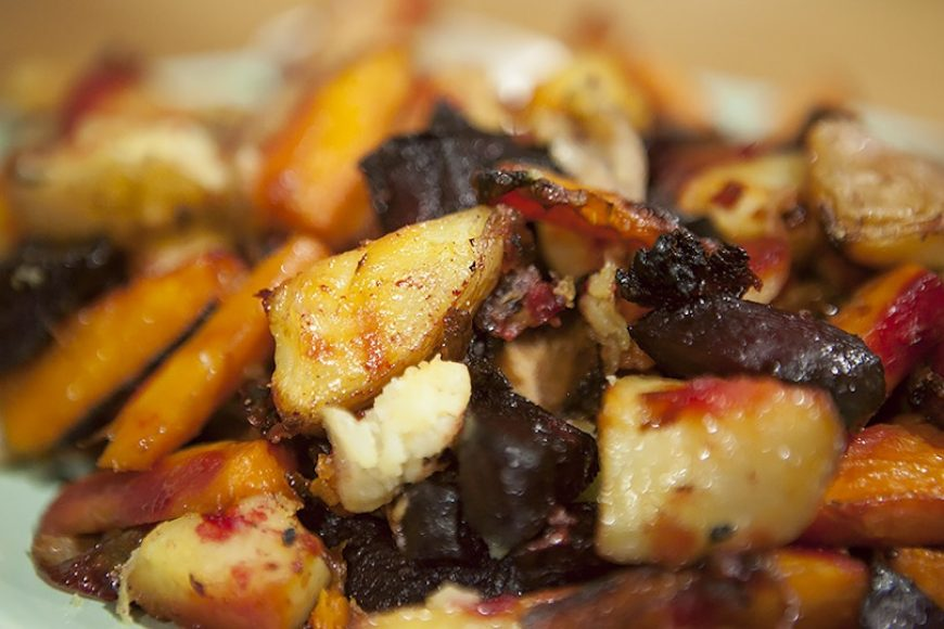 Baked Vegetables With A Difference