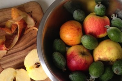Apple & Feijoa Scrumble Recipe