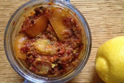 Spicy Indian Lemon Pickle Recipe
