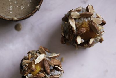 Pumpkin, Chestnut and Almond Brown Rice Balls Recipe