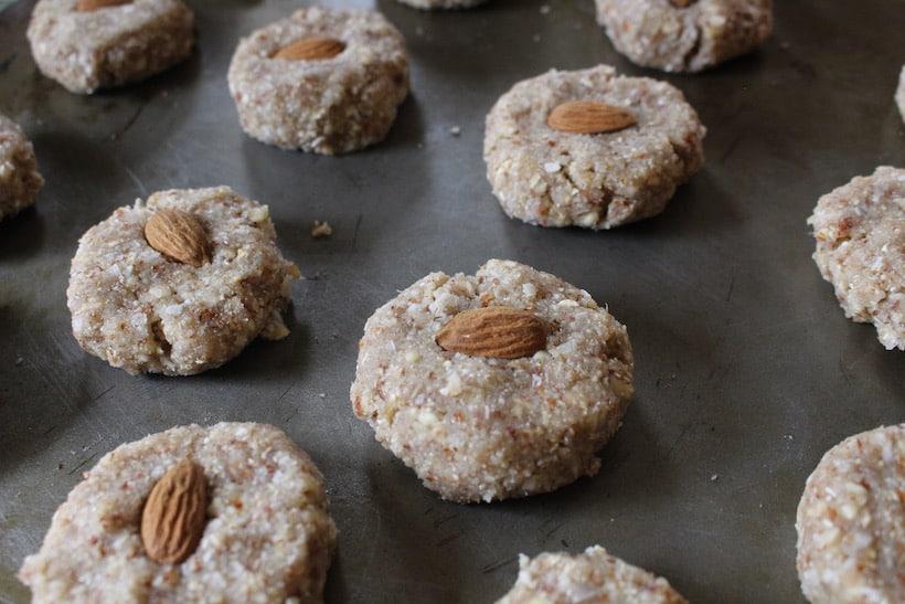 plant-based milk pulp cookies