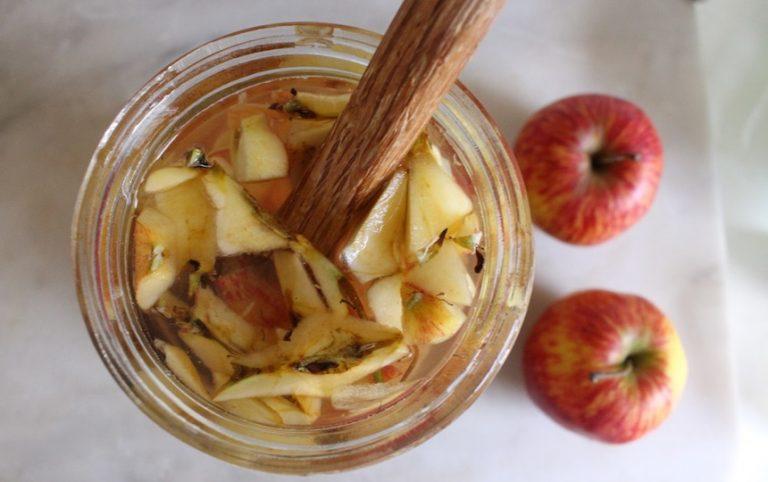 Apple scrap vinegar recipe