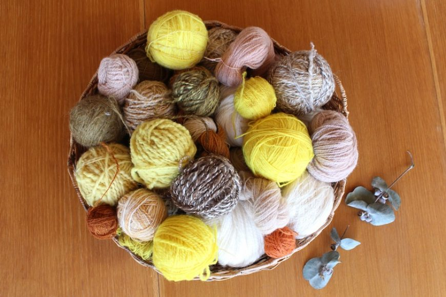 How to Make Naturally Dyed Yarn