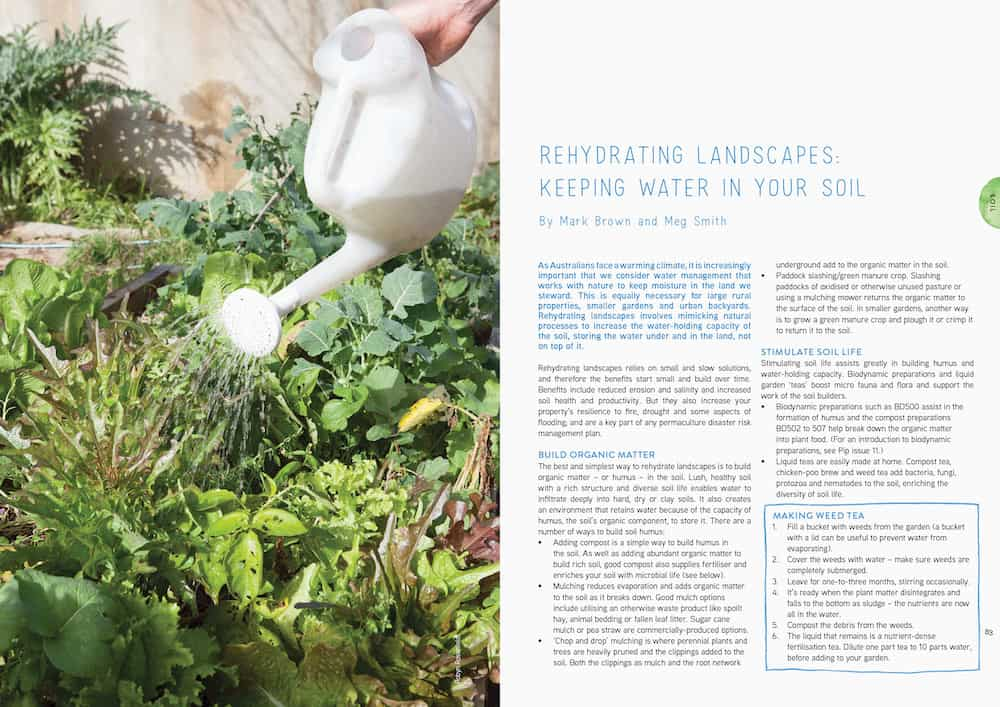rehydrating landscapes