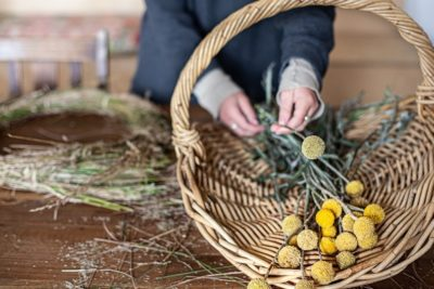 How To Make a Native Christmas Wreath