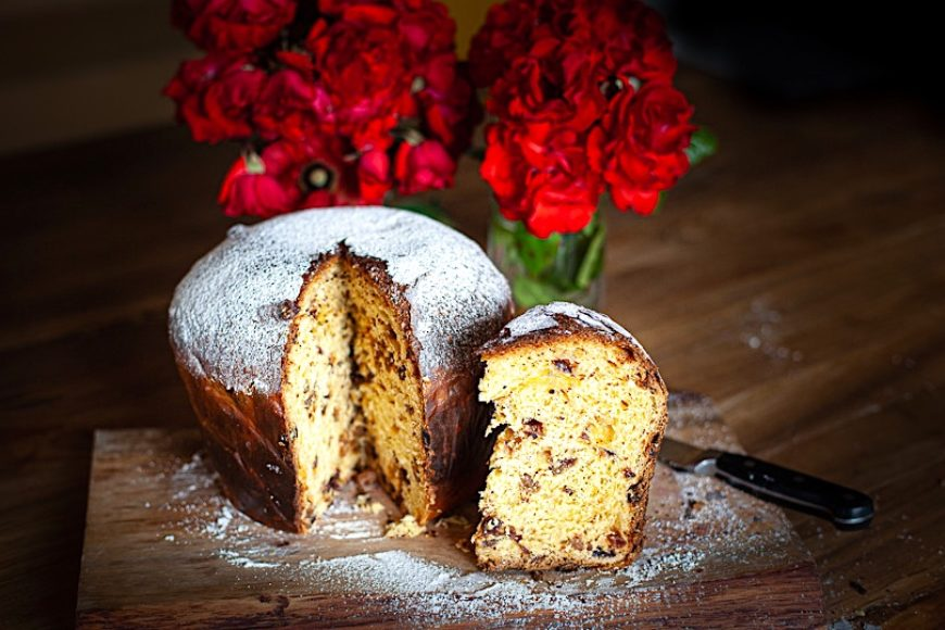 Naturally Leavened Panettone Recipe