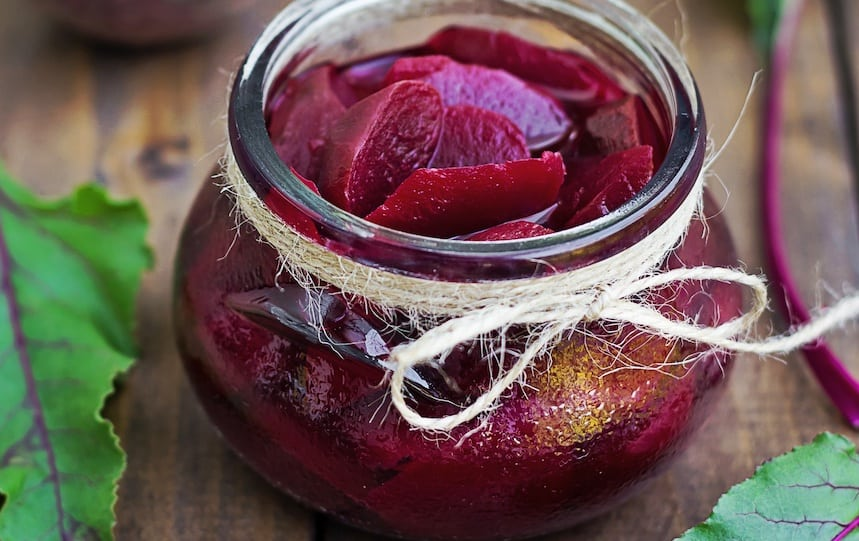 Spiced Beetroot Pickle Recipe
