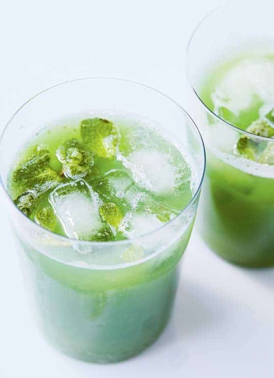 Cucumber and mint