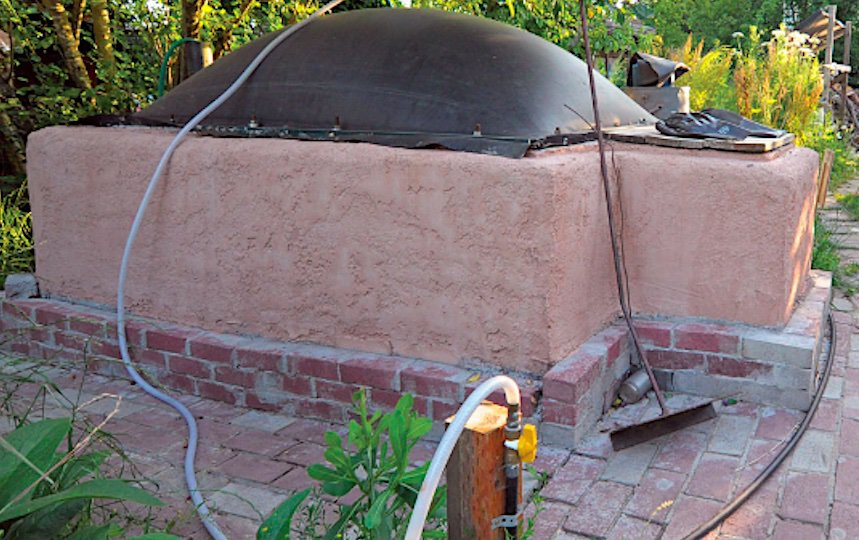 Biogas Digester- Turning Waste Into Energy