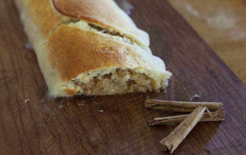 Apple roly poly recipe