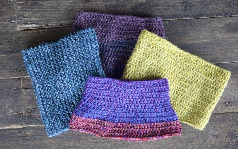 How To Make a Knitted Cowl